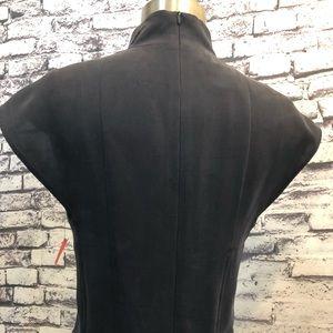 Akris Punto Dresses - AKRIS Bergdorf Goodman Black Silk Pleated Dress